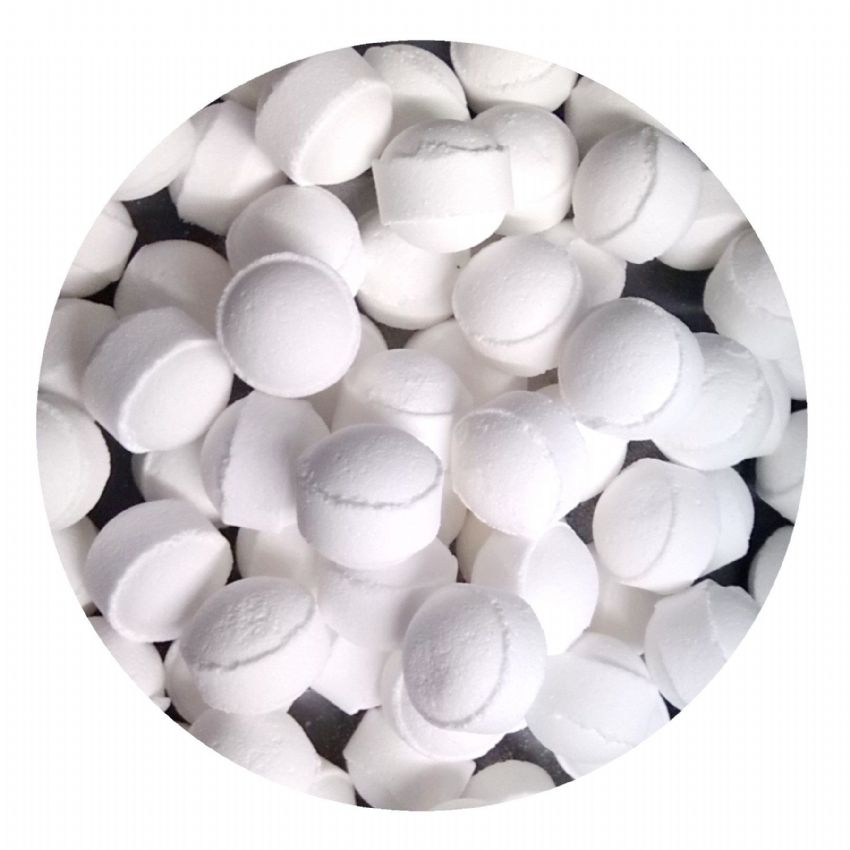 30 x Snowmusk Mini Bath Marbles Fizzers Bath Bubble & Beyond 10g